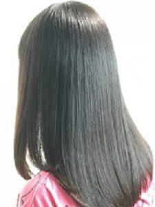 美容院ラフォンテ縮毛矯正のモデル