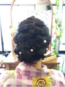 つくばの美容室La fonteのヘアアレンジ