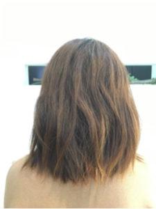 つくばの美容室La fonteの縮毛矯正