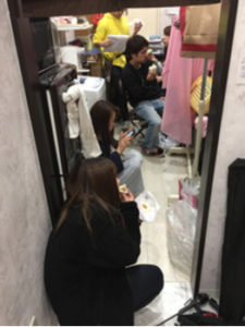 美容室La fonteつくば二の宮店の店内