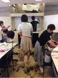 つくばの美容室La fonteのスタッフの勉強会