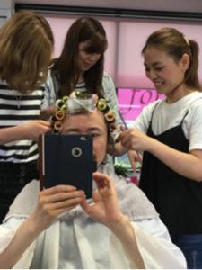 つくばの美容室La fonteのスタッフによる髪質改善ヘアエステ