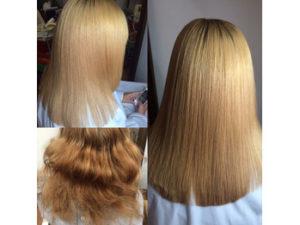 つくばの美容室La fonteの髪質改善ストレートエステ