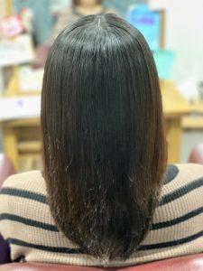 ラフォンテ髪質改善セミロングのモデル