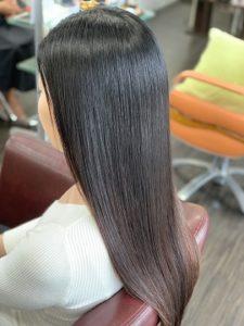 ラフォンテ髪質改善ロングのモデル