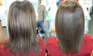 髪質改善・縮毛矯正のBeforeAfter